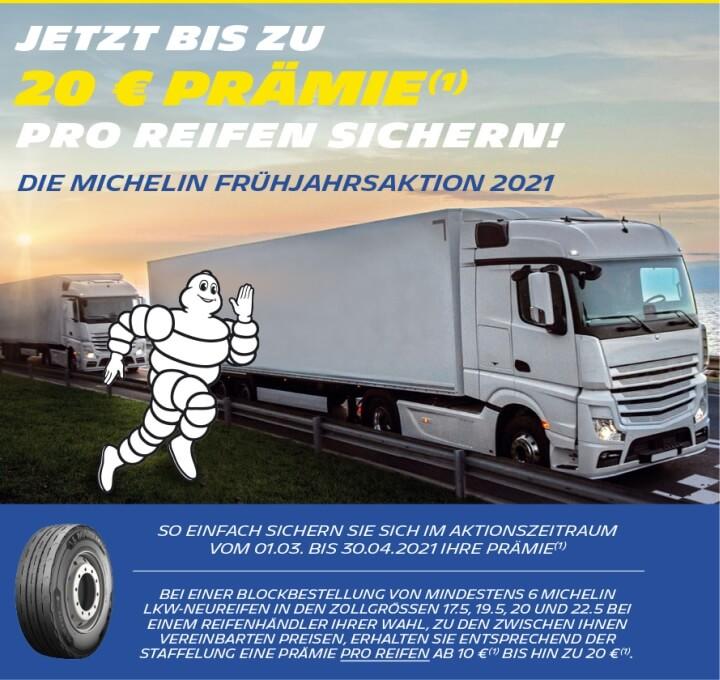 Michelin - Frühjahrsaktion 2021