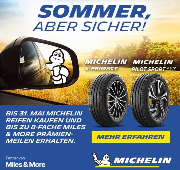 Michelin - Sommer, aber sicher!
